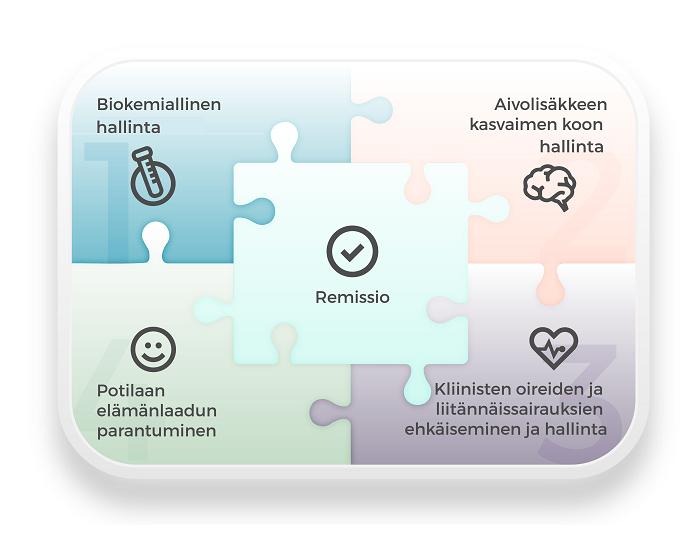 Akromegalian hoidon kokonaisvaltaisuus